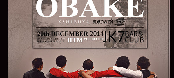 """OBAKE DECADE"" -10years Anniversary OBAKE Band"