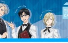'Yuri!!! on ICE' Collaboration Cafe in Omotesando, Osaka, and Nagoya
