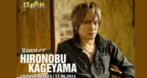 Kageyama Hironobu to be a guest star in CLAS:H Jakarta