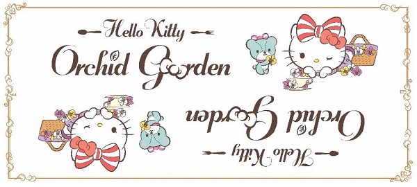 HELLO KITTY ORCHID GARDEN CAFE AT CHANGI AIRPORT