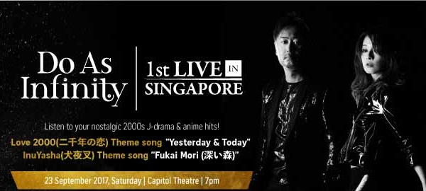 Do As Infinity 1st Live in Singapore [23 September 2017]